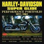 Harley Davidson Super Glide Performance Portfolio, 1971-81