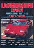 Lamborghini Cars Performance Portfolio 1977-1989