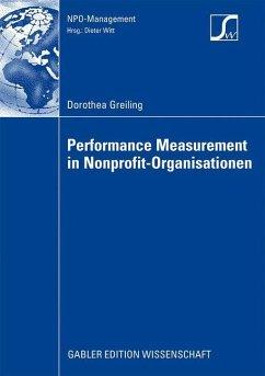 Performance Measurement in Nonprofit-Organisationen - Greiling, Dorothea