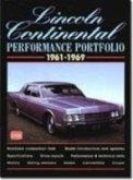Lincoln Continental Performance Portfolio, 1961-1969