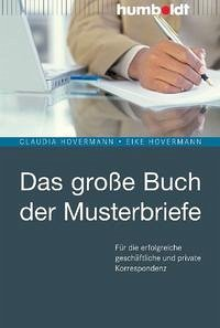 Das große Buch der Musterbriefe - Hovermann, Claudia; Hovermann, Eike
