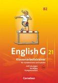 English G 21. Ausgabe B 2. Klassenarbeitstrainer mit Lösungen und CD