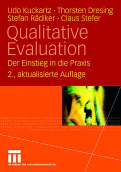 Qualitative Evaluation - Kuckartz, Udo; Dresing, Thorsten; Rädiker, Stefan; Stefer, Claus