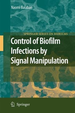 Control of Biofilm Infections by Signal Manipulation - Balaban, Naomi (ed.)