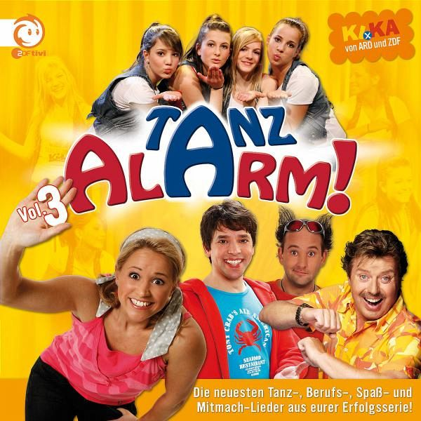 Tanzalarm, 1 Audio-CD - Rosin, Volker; Lehel, Tom