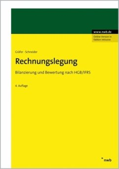 Rechnungslegung - Gräfer, Horst; Schneider, Georg
