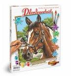 Schipper 609240381 - Pferdeportrait, MNZ, Malen nach Zahlen