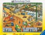 Ravensburger 06678 - An der Baustelle, 38 Teile Puzzle