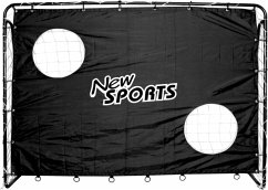 New Sports Fußballtor+Torwand, 213x152x76cm
