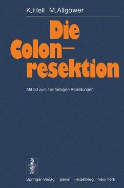 Die Colonresektion.
