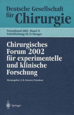 Chirurgisches Forum 2002