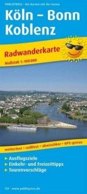 PublicPress Radwanderkarte Köln - Bonn - Koblenz