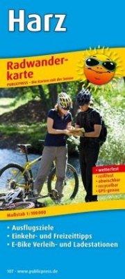 PublicPress Radwanderkarte Harz