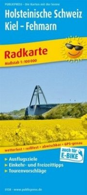 PublicPress Radwanderkarte Holsteinische Schwei...
