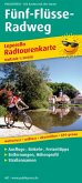 PublicPress Leporello Radtourenkarte Fünf-Flüsse-Radweg