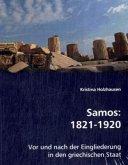 Samos: 1821-1920