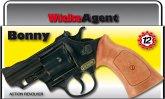 12er Agentenrevolver Bonny 23,8cm, Box