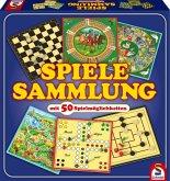 Spiele-Sammlung mit 50 Spielen