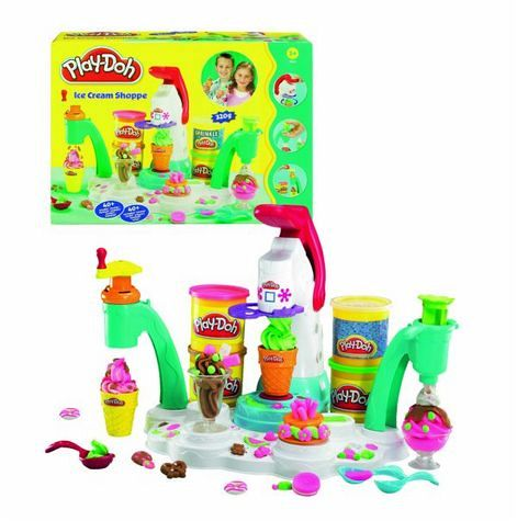 hasbro 20606148 play doh softeis maschine bei b immer portofrei. Black Bedroom Furniture Sets. Home Design Ideas