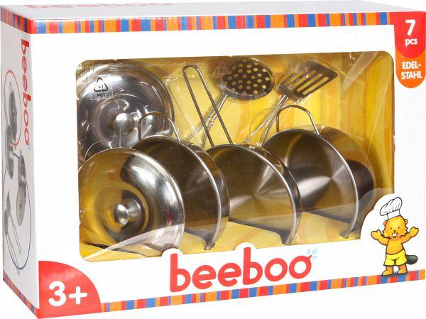 Beebo Kitchen Edelstahl Topfset, 7tlg Bei bücher de immer portofrei