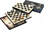 Philos 2511 - Reise-Schach-Backgammon-Dame-Set