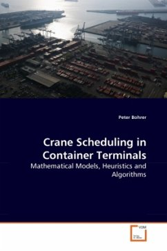Crane Scheduling in Container Terminals