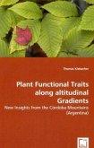 Plant Functional Traits along altitudinal Gradients