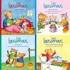 Maxi-Pixi-4er-Set 80: Meine liebsten Geschichten von Leo Lausemaus (4x1 Exemplar)