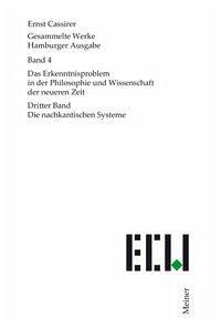 Gesammelte Werke. Hamburger Ausgabe / Das Erkenntnisproblem in der Philosophie und Wissenschaft der neueren Zeit - Cassirer, Ernst