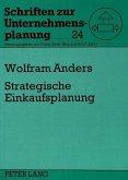 Strategische Einkaufsplanung