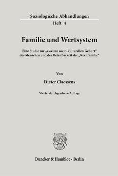 Familie und Wertsystem. - Claessens, Dieter