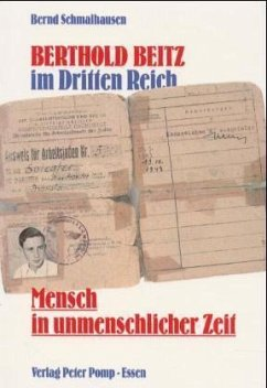 Berthold Beitz im Dritten Reich