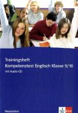 Trainingsheft Kompetenztest Englisch Klasse 9/10 Hauptschule