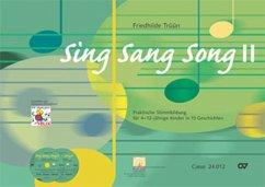 Sing Sang Song, m. 2 Audio-CDs