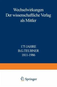 Wechselwirkungen - Merkelbach, Reinhold