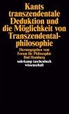 Kants transzendentale Deduktion und die Möglichkeit von Transzendentalphilosophie