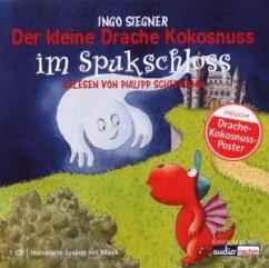 Der kleine Drache Kokosnuss im Spukschloss / Die Abenteuer des kleinen Drachen Kokosnuss Bd.10 - Siegner, Ingo
