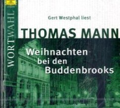 Weihnachten bei den Buddenbrooks, 1 Audio-CD - Mann, Thomas