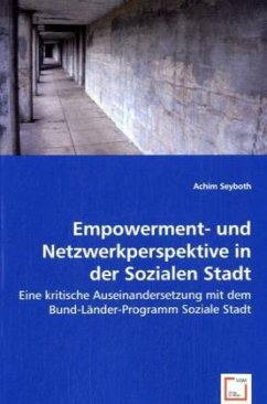 Empowerment- und Netzwerkperspektive in der Soz...