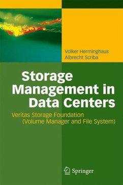 Storage Management in Data Centers - Herminghaus, Volker; Scriba, Albrecht