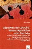 Opposition der CDU/CSU-Bundestagsfraktion unter Rot-Grün