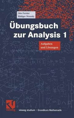 Übungsbuch zur Analysis