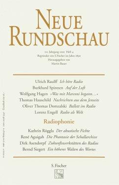 Neue Rundschau 2001/4