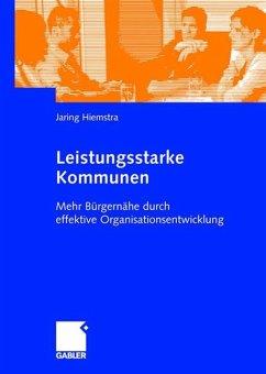 Leistungsstarke Kommunen - Hiemstra, Jaring