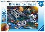 Ravensburger 12692 - Expedition Weltraum, Puzzle, Kinderpuzzle, 200 Teile XXL