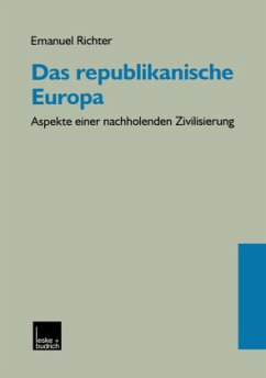 Das republikanische Europa - Richter, Emanuel