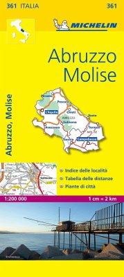 Abruzzo & Molise - Michelin Local Map 361