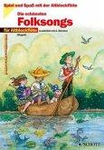 Die schönsten Folksongs, für 1-2 Altblockflöten