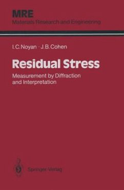 9780387963785 - Noyan, Ismail C. Cohen, Jerome B.: Residual Stress: Measurement by Diffraction and Interpretation - Book