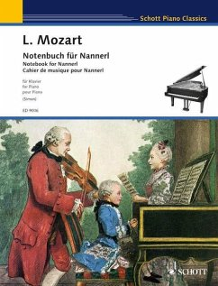 Notenbuch für Nannerl, Klavier